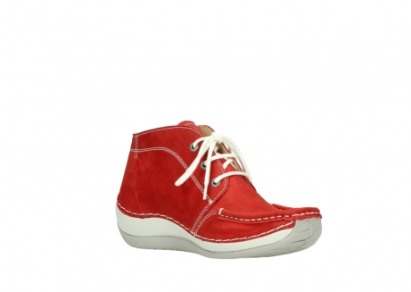 wolky lace up boots 04803 olympia 10570 red summer nubuck_16