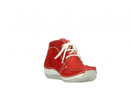 wolky lace up boots 04803 olympia 10570 red summer nubuck_17