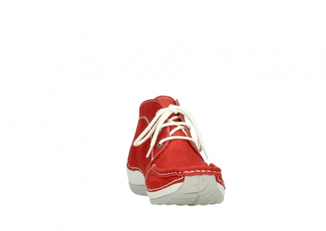 wolky lace up boots 04803 olympia 10570 red summer nubuck_18