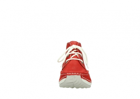 wolky lace up boots 04803 olympia 10570 red summer nubuck_19