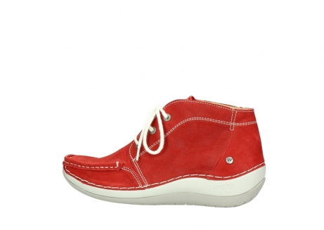 wolky lace up boots 04803 olympia 10570 red summer nubuck_2
