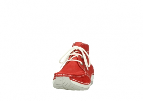 wolky lace up boots 04803 olympia 10570 red summer nubuck_20
