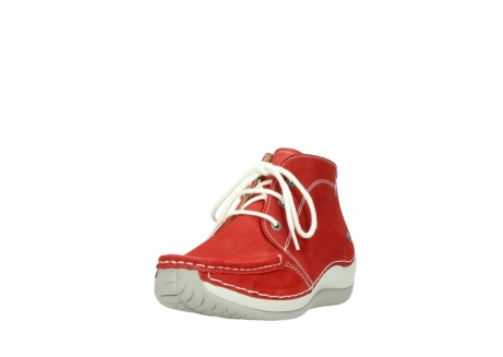 wolky lace up boots 04803 olympia 10570 red summer nubuck_21