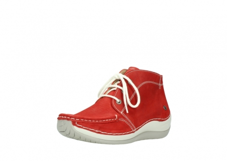 wolky lace up boots 04803 olympia 10570 red summer nubuck_22