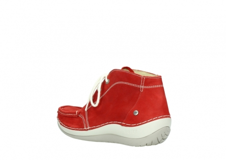 wolky lace up boots 04803 olympia 10570 red summer nubuck_4