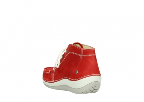 wolky lace up boots 04803 olympia 10570 red summer nubuck_5