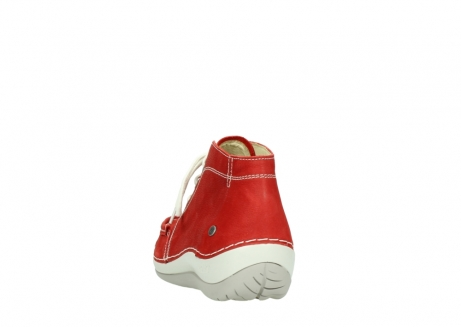 wolky lace up boots 04803 olympia 10570 red summer nubuck_6