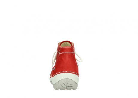 wolky lace up boots 04803 olympia 10570 red summer nubuck_7