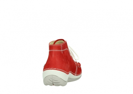 wolky lace up boots 04803 olympia 10570 red summer nubuck_8