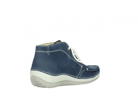 wolky lace up boots 04803 olympia 10820 denim blue nubuck_10
