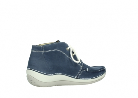wolky lace up boots 04803 olympia 10820 denim blue nubuck_11