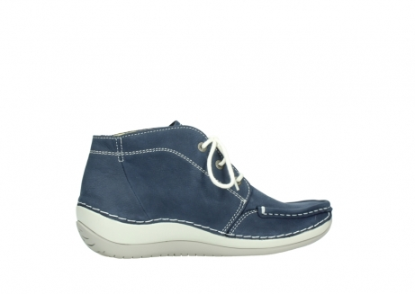 wolky lace up boots 04803 olympia 10820 denim blue nubuck_12