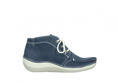 wolky lace up boots 04803 olympia 10820 denim blue nubuck_13