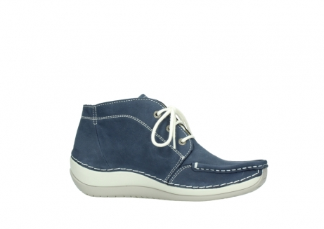 wolky lace up boots 04803 olympia 10820 denim blue nubuck_14