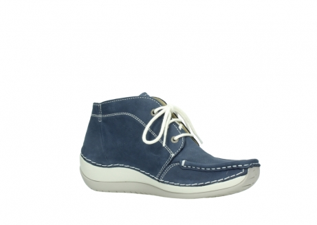 wolky lace up boots 04803 olympia 10820 denim blue nubuck_15
