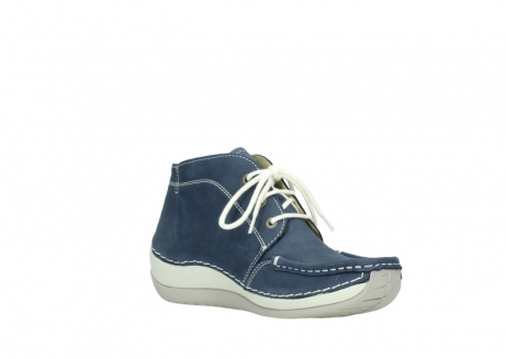 wolky lace up boots 04803 olympia 10820 denim blue nubuck_16