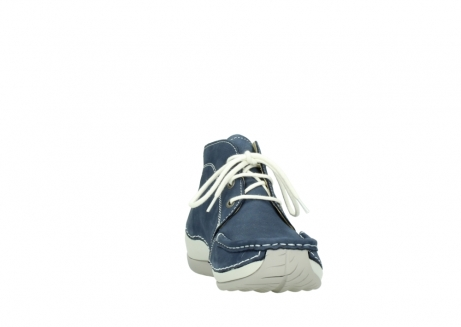 wolky lace up boots 04803 olympia 10820 denim blue nubuck_18