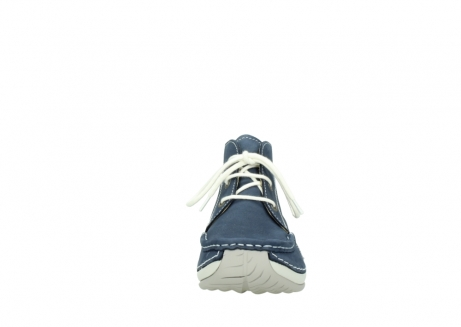 wolky lace up boots 04803 olympia 10820 denim blue nubuck_19
