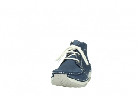 wolky lace up boots 04803 olympia 10820 denim blue nubuck_20