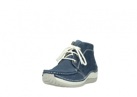 wolky lace up boots 04803 olympia 10820 denim blue nubuck_21