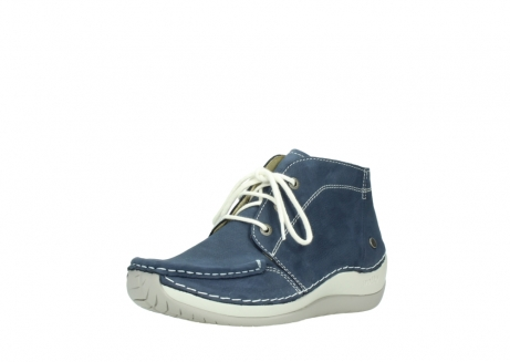 wolky lace up boots 04803 olympia 10820 denim blue nubuck_22