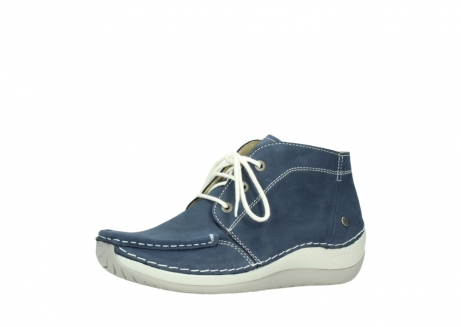 wolky lace up boots 04803 olympia 10820 denim blue nubuck_23