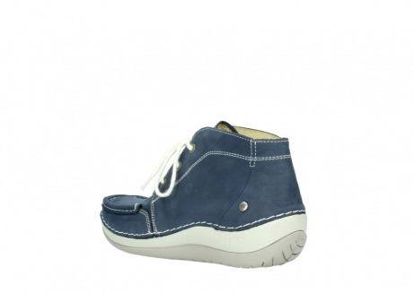 wolky lace up boots 04803 olympia 10820 denim blue nubuck_4
