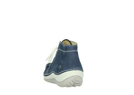 wolky lace up boots 04803 olympia 10820 denim blue nubuck_6