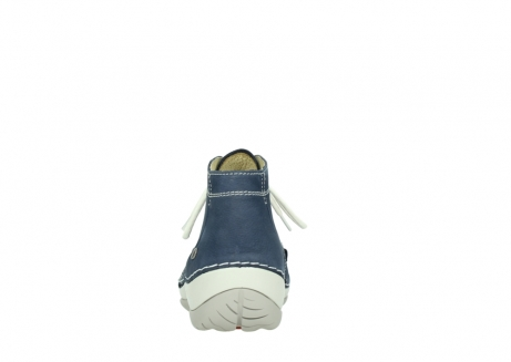 wolky lace up boots 04803 olympia 10820 denim blue nubuck_7