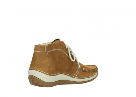 wolky bottines a lacets 04803 olympia 10410 nubuck tobacco_10