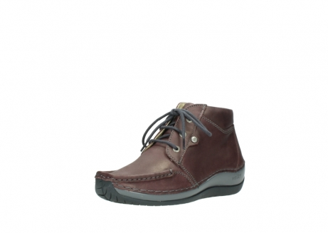 wolky lace up boots 04826 sensation 10620 mottled metallic burgundy leather_22