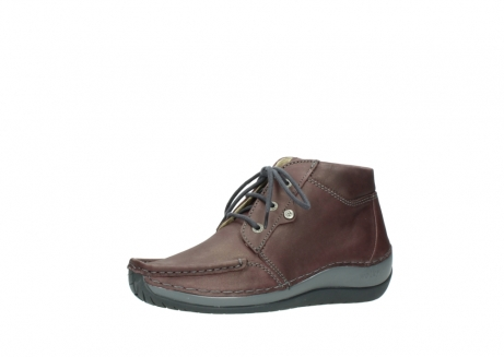 wolky lace up boots 04826 sensation 10620 mottled metallic burgundy leather_23