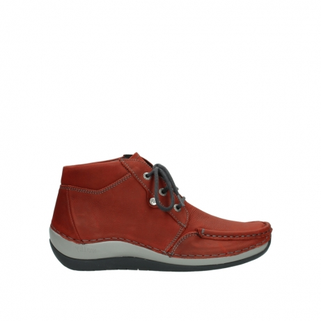 wolky veterboots 04826 sensation 11542 winter rood nubuck