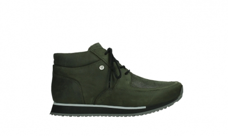 wolky veterboots 05802 e boot 11730 forestgroen stretch leer_1
