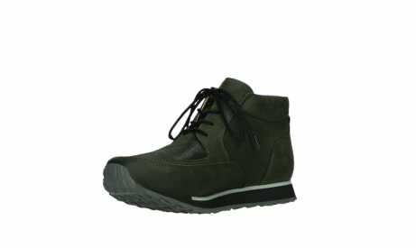 wolky veterboots 05802 e boot 11730 forestgroen stretch leer_10