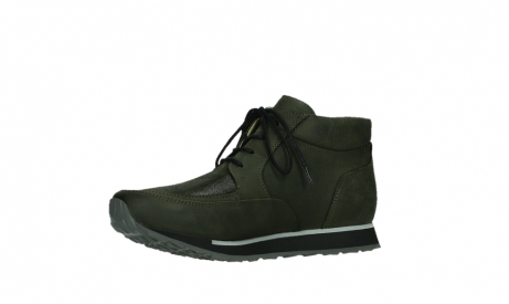 wolky veterboots 05802 e boot 11730 forestgroen stretch leer_11