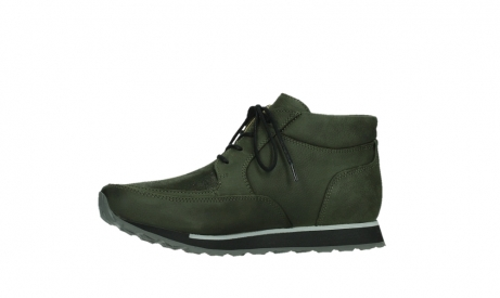 wolky veterboots 05802 e boot 11730 forestgroen stretch leer_12