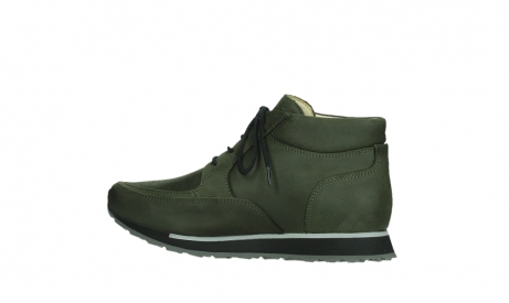 wolky veterboots 05802 e boot 11730 forestgroen stretch leer_14