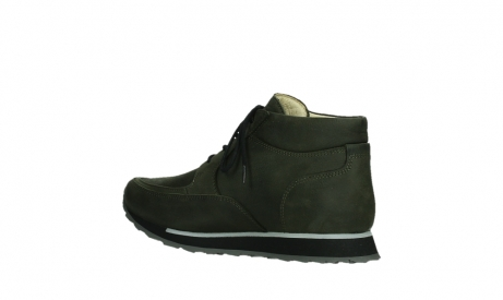 wolky veterboots 05802 e boot 11730 forestgroen stretch leer_15