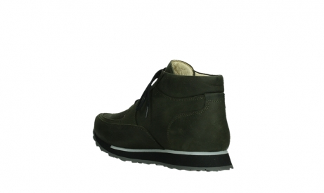 wolky veterboots 05802 e boot 11730 forestgroen stretch leer_16