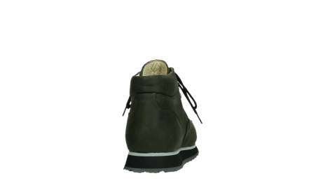 wolky veterboots 05802 e boot 11730 forestgroen stretch leer_19