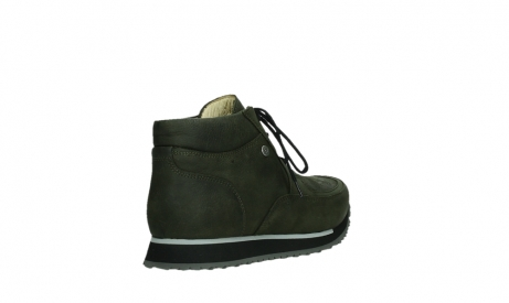 wolky veterboots 05802 e boot 11730 forestgroen stretch leer_21
