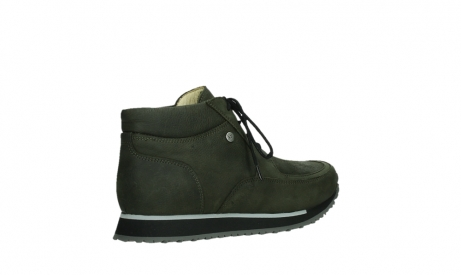 wolky veterboots 05802 e boot 11730 forestgroen stretch leer_22