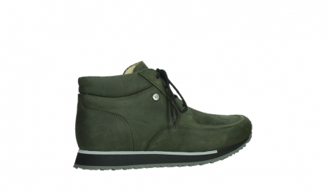 wolky veterboots 05802 e boot 11730 forestgroen stretch leer_23