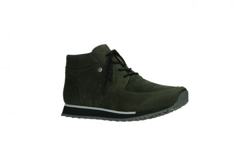 wolky veterboots 05802 e boot 11730 forestgroen stretch leer_3
