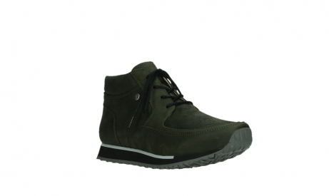 wolky veterboots 05802 e boot 11730 forestgroen stretch leer_4