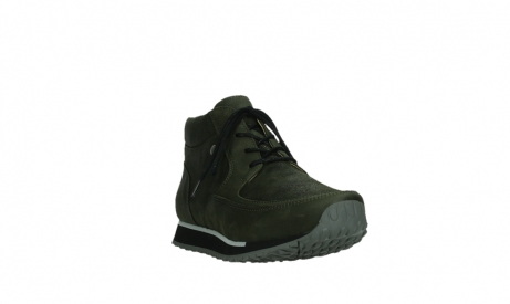 wolky veterboots 05802 e boot 11730 forestgroen stretch leer_5