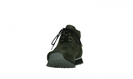 wolky veterboots 05802 e boot 11730 forestgroen stretch leer_8