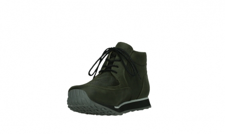 wolky veterboots 05802 e boot 11730 forestgroen stretch leer_9