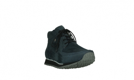 wolky lace up boots 05802 e boot 11800 blue stretch nubuck_5
